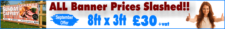 Banner Prices Slashed..!