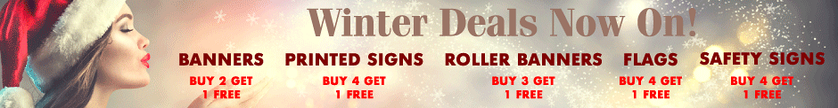 Discounts & Savings - Signs, Banners & More