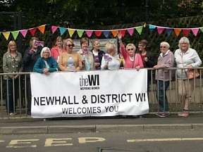 Newhall WI Banner