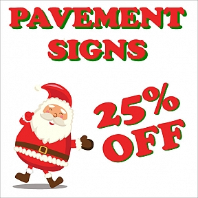 Cheap Pavement Signs