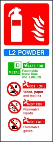 L2 Powder Extinguisher