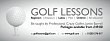 Golf Lessons Banners