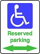 Reserved Parking (Left & Right)
