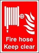 Hose Keep Clear