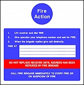 Fire Action Dial 999