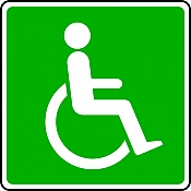 International Disabled Sign