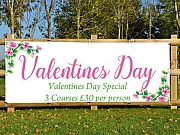 Valentines Meal Deal Banners
