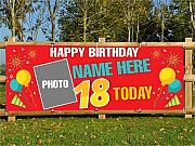 Photo Birthday Banners
