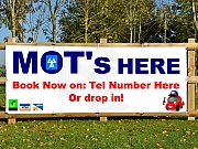 MOT's Here Banners