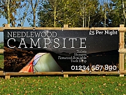 Campsite Holiday Banners