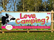 Love Camping Promotional Banners