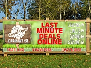 Last Minute Camping Deals Promotional Banners