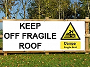 Fragile Roof Banners