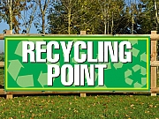 Recycling Point Banners