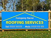 Roofing Services Banners