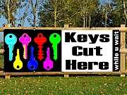 Keys Cut Banners
