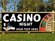 Casino Night Banners