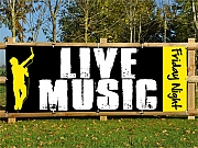 Live Music Banners