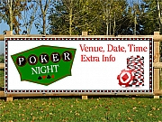Poker Night Banners