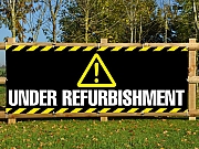 Under Refurbishment Banner