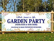 Garden Party Banners