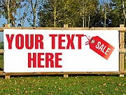 Sale Your Text Banners