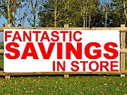 Savings Store Banners