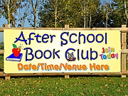 School Book Club Banners