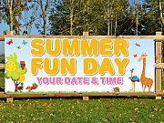 Summer Fun Day Banners