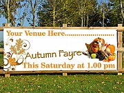 Autumn Fayre Banners