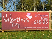 Valentines Meal Banners