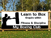 Boxing Club Banners