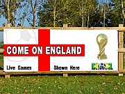 Come on England Banners