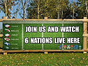 6 Nations Rugby Banners