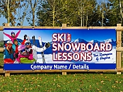 Learn to Ski & Snowboard Banners