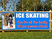 Christmas Ice Skating Banners