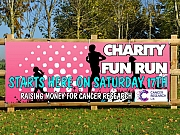 Charity Fun Run Banners