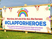 Clap For Heroes Banners