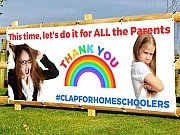 Clap For Parents Banners