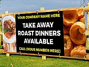Take a Way Roast Dinners Banners