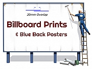 Blue Back Posters
