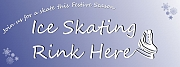 Ice Skating Rink Here Banners