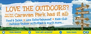 Caravan Park Holiday Banners
