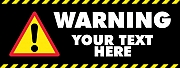 Danger Warning Banner
