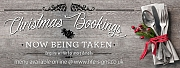 Christmas Bookings - Being Taken Now