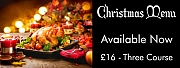 Christmas Menu Available Now