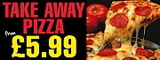 Take-a-way Pizza Banners