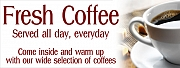 Fresh Coffee Banners