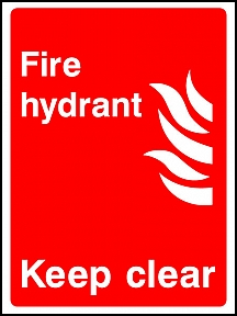 Hydrant Keep Clear