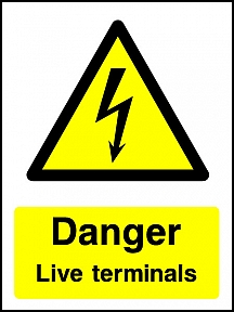 Danger Live Terminals Portrait